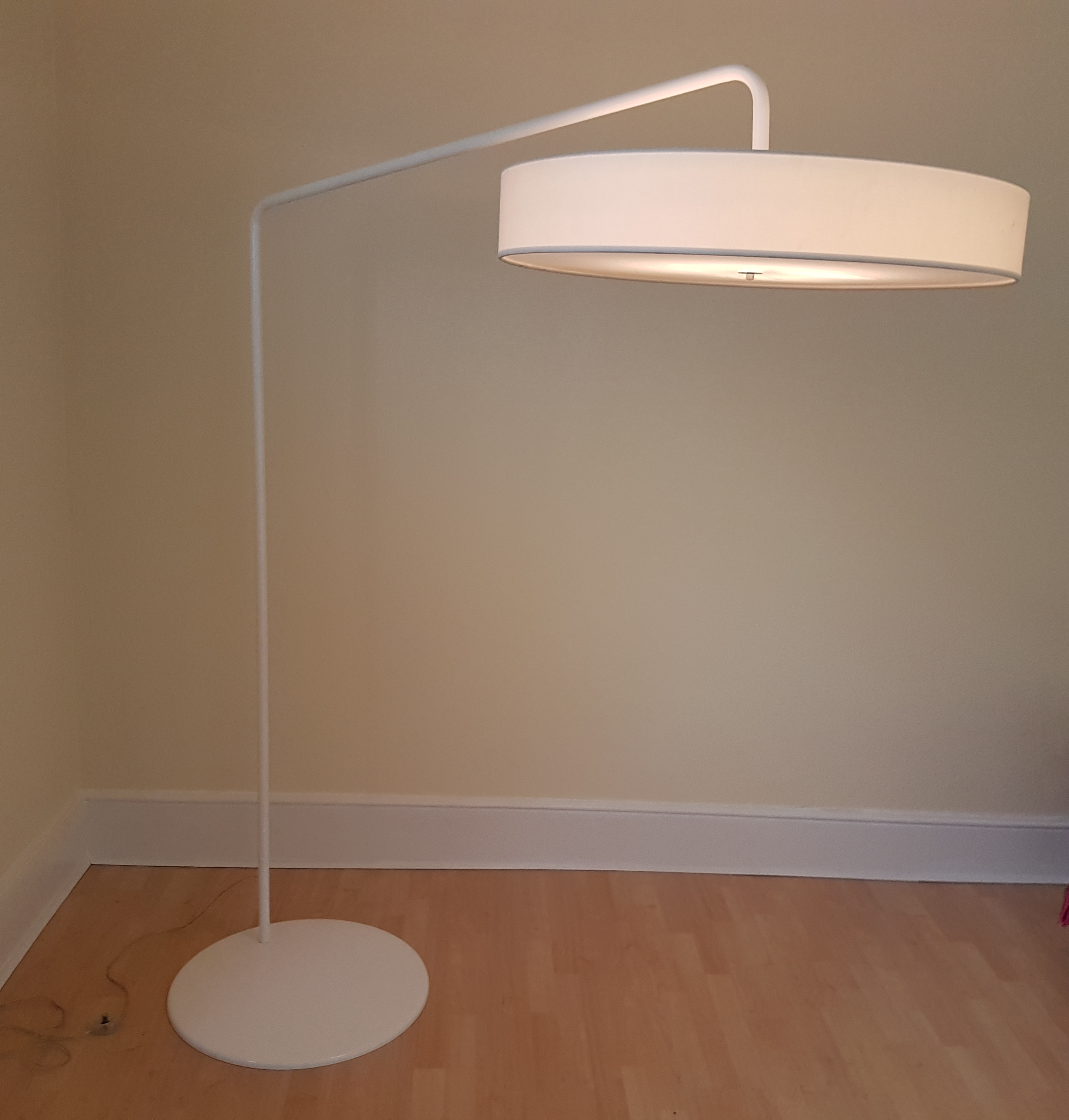 Large Italian Floor Lamp By Modeluce W Dimmer Switch